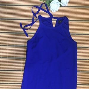 💙Royal blue 💙dress with stings on the back